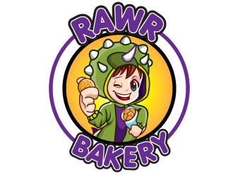 Rawr Bakery logo design