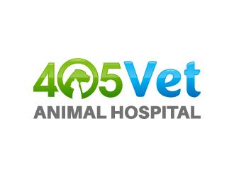 405 Vet logo design