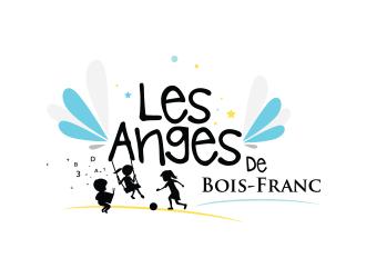 Les Anges de Bois-Franc logo design