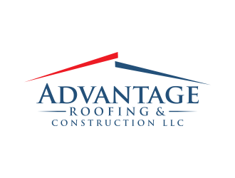 Advantage Roofing and Construction, LLC logo design