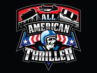All American Thriller logo design winner