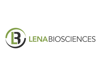 Lena Biosciences logo design