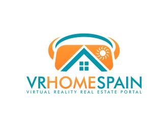 VR Home Spain logo design