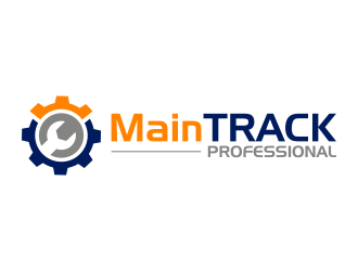 MainTRACK logo design