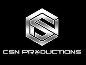 CSN Productions logo design
