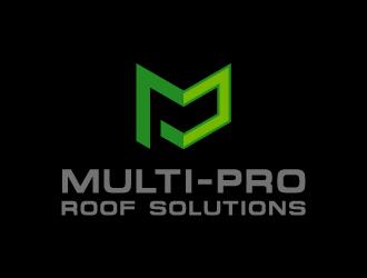 Multi-Pro Roof Solutions logo design