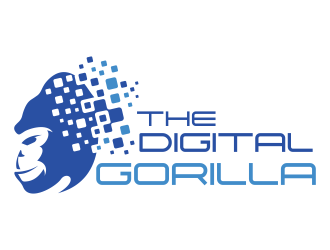 The Digital Gorilla logo design