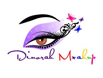 Dinorah M. logo design