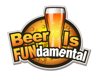 Beer Is FUNdamental logo design