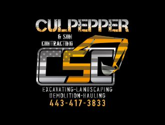Culpepper & Son Contracting logo design