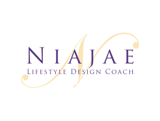 Niajae Lifestyle Design Coach logo design