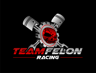 Team Felon Racing logo design