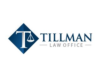 Tillman Law Office logo design winner