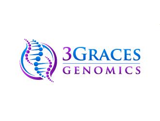 3Graces Genomics logo design