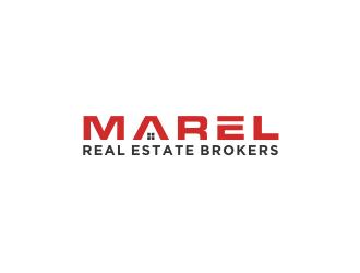 MAREL REAL ESTATE BROKERS logo design