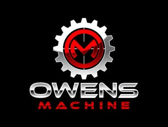 Owens Machine logo design