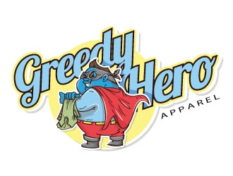 Greedy Hero logo design