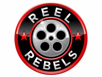 REEL REBELS logo design