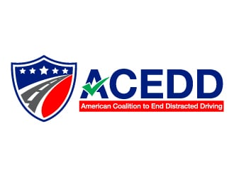 American Coalition to End Distracted Driving (ACEDD.org) logo design winner