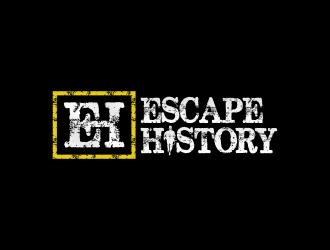 Escape History logo design