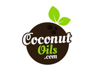 CoconutOils.com logo design
