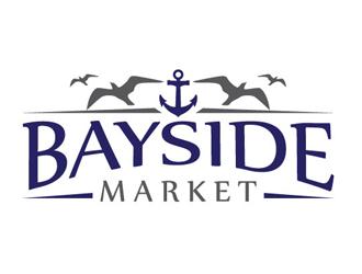 Bayside Market logo design winner