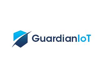 GuardianIoT logo design