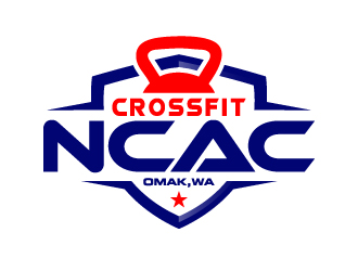 CrossFit NCAC logo design