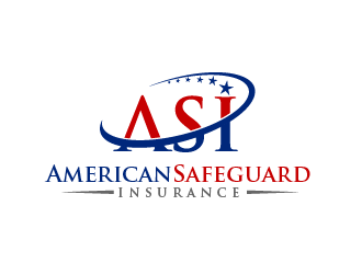 ASI (stands for American Safeguard Insurance logo design