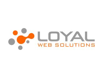Loyal Web Solutions logo design