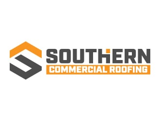 Southern Commercial Roofing logo design