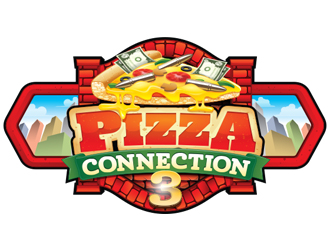 Pizza Connection 3 logo design