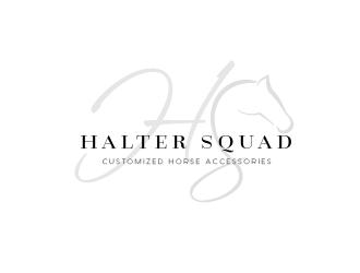 Halter Squad logo design