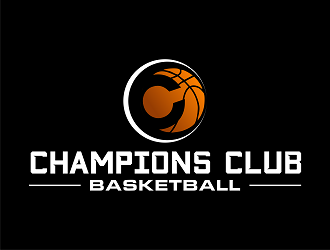 Champions Club Basketball logo design