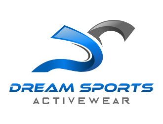 Dream Sports Activewear logo design