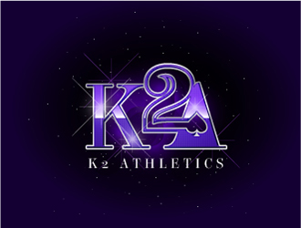 K2 Athletics or K2A logo design