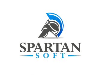 SpartanSoft logo design