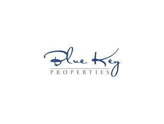 BLUE KEY PROPERTIES logo design