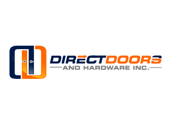 Direct Doors and Hardware, Inc. logo design