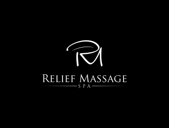 Relief Massage Spa logo design