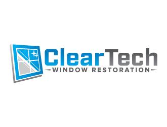 Clear Tech Window Restoration logo design