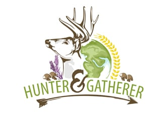 Hunter & Gatherer logo design