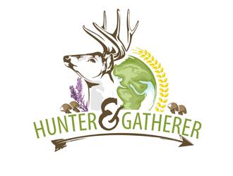 Hunter & Gatherer logo design