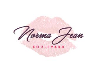 Norma Jean Boulevard logo design