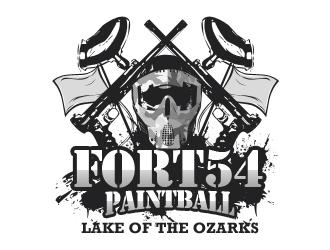 fort 54 paintball logo design 48hourslogo com rh 48hourslogo com paintball logos designs paintball logo creator