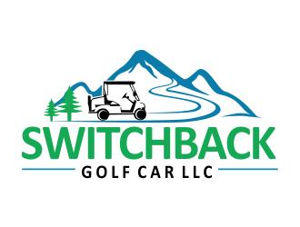 SWITCHBACK GOLF CAR LLC logo design