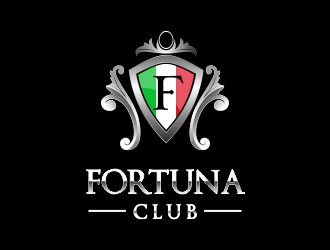 FORTUNA CLUB logo design