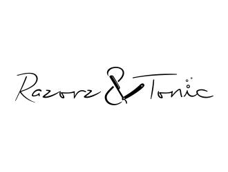 Razorz & Tonic logo design