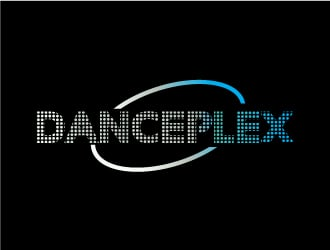 Danceplex logo design