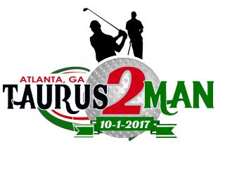 Taurus 2 Man logo design